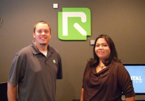 Rob Lewis & Mary Big Bull-Lewis of R Digital Design