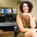 Collete Jones, owner of GiddyUp Salon and Spa, offers clients upscale design and services, along with professional development for industry colleagues.