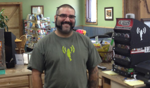 Jeff Lyman, owner of the Carlton General Store