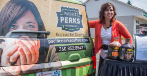 Natalie Fairchild, owner of Pacific Perks