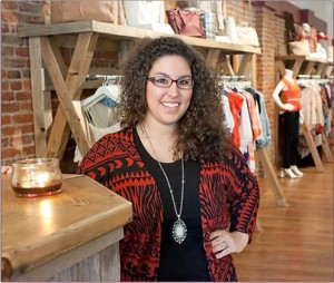 Megan West, owner Claim Clothing