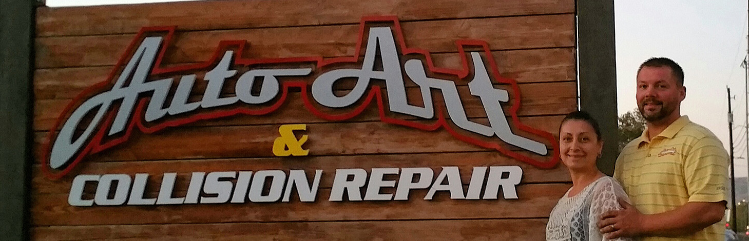 Irma and Mike Philp Auto Art & Collision Repair – web slider