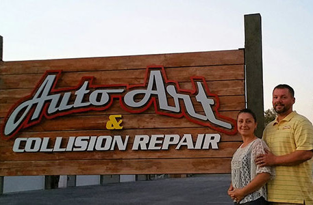 Irma and Mike Philp Auto Art & Collision Repair web size
