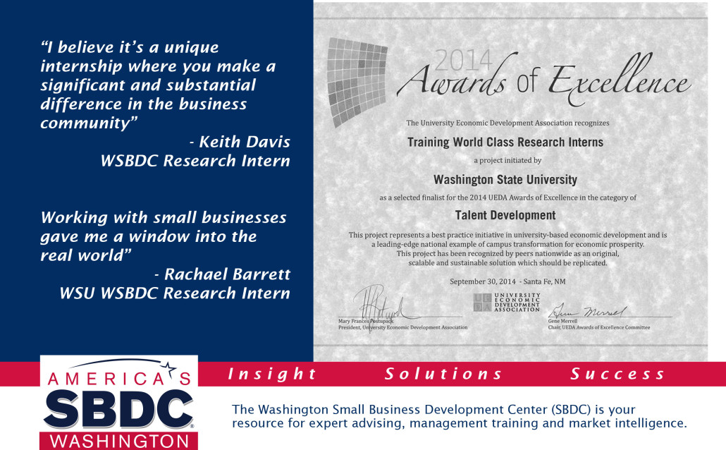 SBDC Intern Post Card
