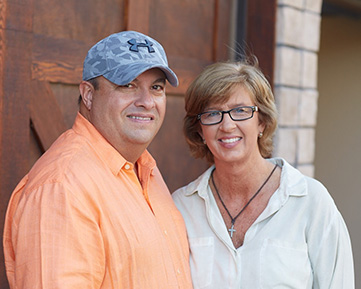 Owners of Core NW, Rod and Brenda Cassell