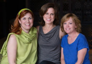 Three owners of Three Trees Yoga